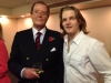 With Sir Roger Moore in London, Nov 2011